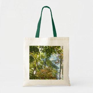stock market landscapes forests of the Alhambra Tote Bag