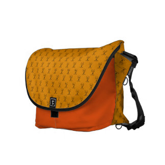 Stock market Mesh Arch great Search Courier Bag