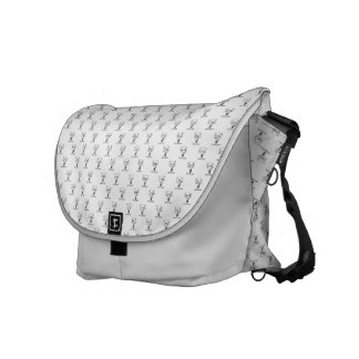 Stock market Mesh Arch great Search Messenger Bag