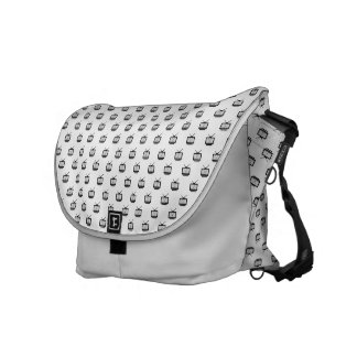 Stock market Mesh Arch great Search TV Messenger Bag