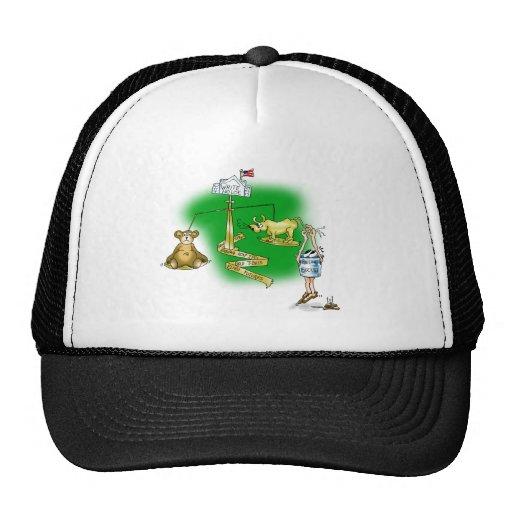 Stock Market Mesh Hat