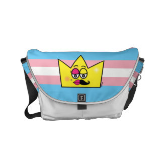 Stock market Messenger - Transgênero Transexual Small Messenger Bag