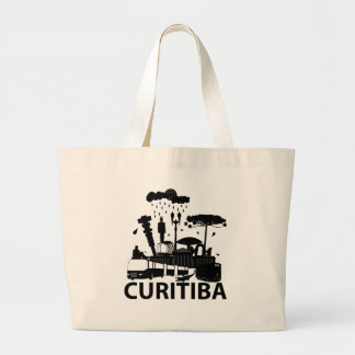 Stock market My Curitiba Large Tote Bag