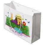 Stock market of Lamaru gift Large Gift Bag