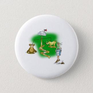Stock Market Pinback Button
