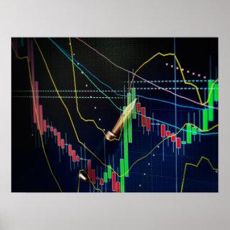 Stock market poster