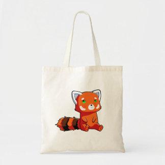 Stock market Raccoon Orange Tote Bag