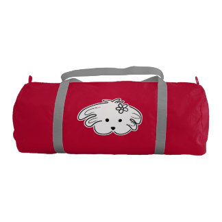 Stock market sports young, red, the world of Lua Duffle Bag