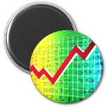 Stock Market Stockbroker Fridge Magnet