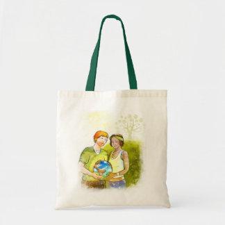 Stock market sustainable World Tote Bag