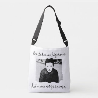 Stock market the Hope of Simone de Beauvoir Crossbody Bag