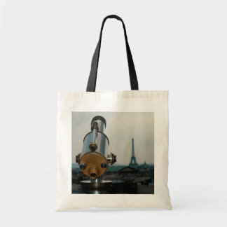 """Stock market Torre Eiffel """"French Cliches"""" Tote Bag"""