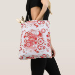 """Stock market tote """"Red Circles """""""