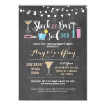 Stock The Bar & Tool Shed Couple's Shower Invitation