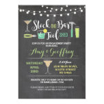 Stock The Bar & Tool Shed Engagement Invite