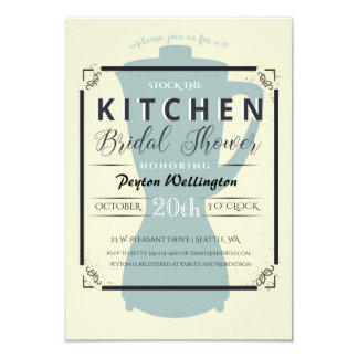 Stock the Kitchen Bridal Shower Invitation
