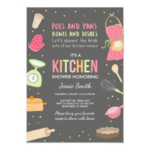 60 off kitchen bridal shower invitations shop now to save zazzle stock the kitchen bridal shower invitation cooking filmwisefo