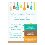 Stock The Kitchen Bridal Wedding Couples Shower Card at Zazzle