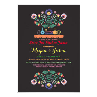 Stock The Kitchen Fiesta Mexico Party Invitation