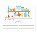 Stock the Kitchen Recipe Card