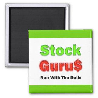 Stock Trader Red Magnet