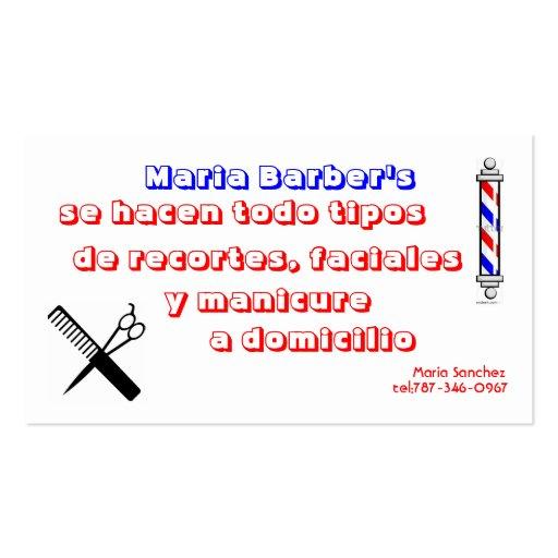 barber logos business cards - photo #15