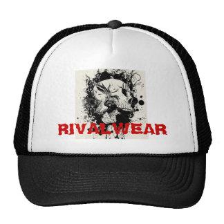 stock-vector-RIVALWEAR SKULL. Trucker Hat