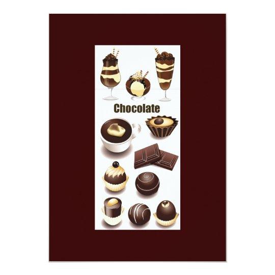 Stock Vectors - Chocolate Card