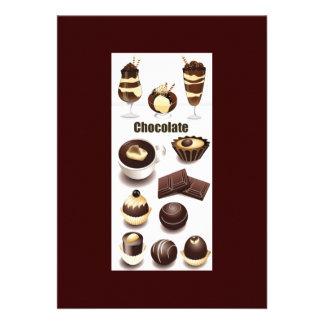 Stock Vectors - Chocolate Custom Invitations