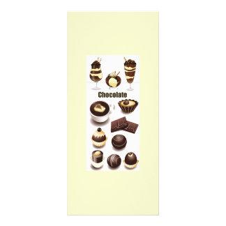 Stock Vectors - Chocolate Rack Card