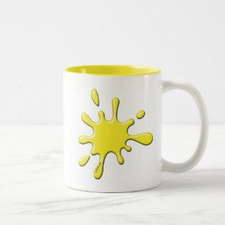 Stock Woodsball - mySplat.com Two-Tone Coffee Mug