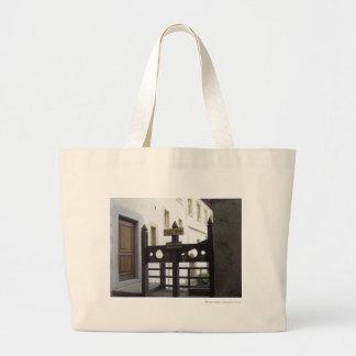 Stockades Large Tote Bag