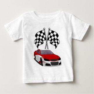 Stockcar Racing & Flags Baby T-Shirt