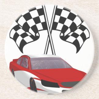 Stockcar Racing & Flags Coaster