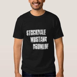 Stockdale   Mustang      Drumline Tee Shirt