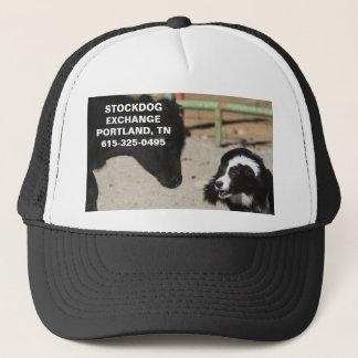STOCKDOG EXCHANGE HAT~PORTLAND, TN TRUCKER HAT