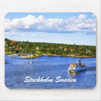 Stockholm Bay Mouse Pad