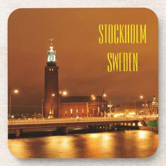 Stockholm City Hall, Sweden Beverage Coaster