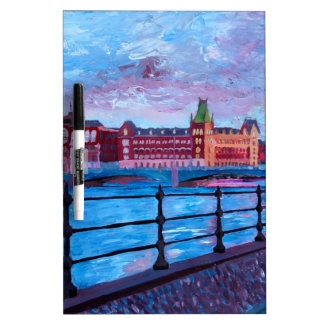 Stockholm City View Dry-Erase Boards