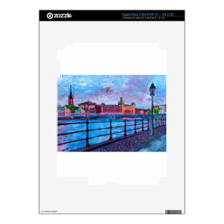 Stockholm City View Skins For iPad 3