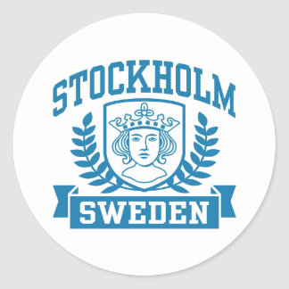 Stockholm Classic Round Sticker