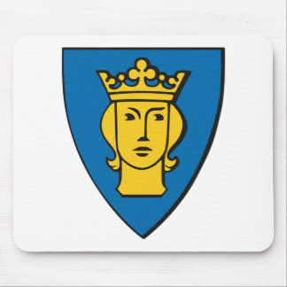 Stockholm Coat of Arms Mousepad