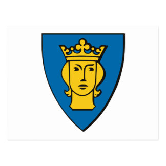 Stockholm Coat of Arms Postcard