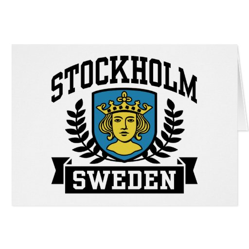 Stockholm Greeting Card