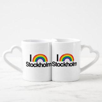 STOCKHOLM - I LOVE PRIDE.png Couples' Coffee Mug Set