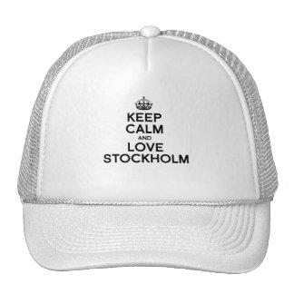 STOCKHOLM KEEP CALM -.png Trucker Hat