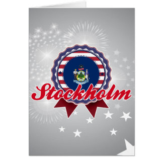 Stockholm, ME Cards