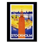 Stockholm Post Card