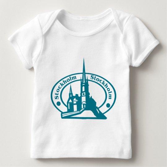 Stockholm Stamp Baby T-Shirt