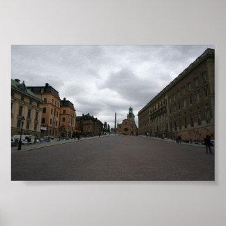 stockholm street poster